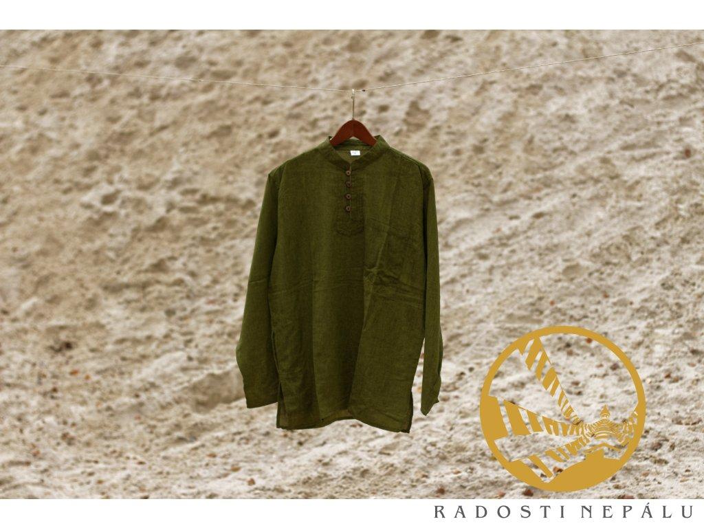Košile/kurta - zelená