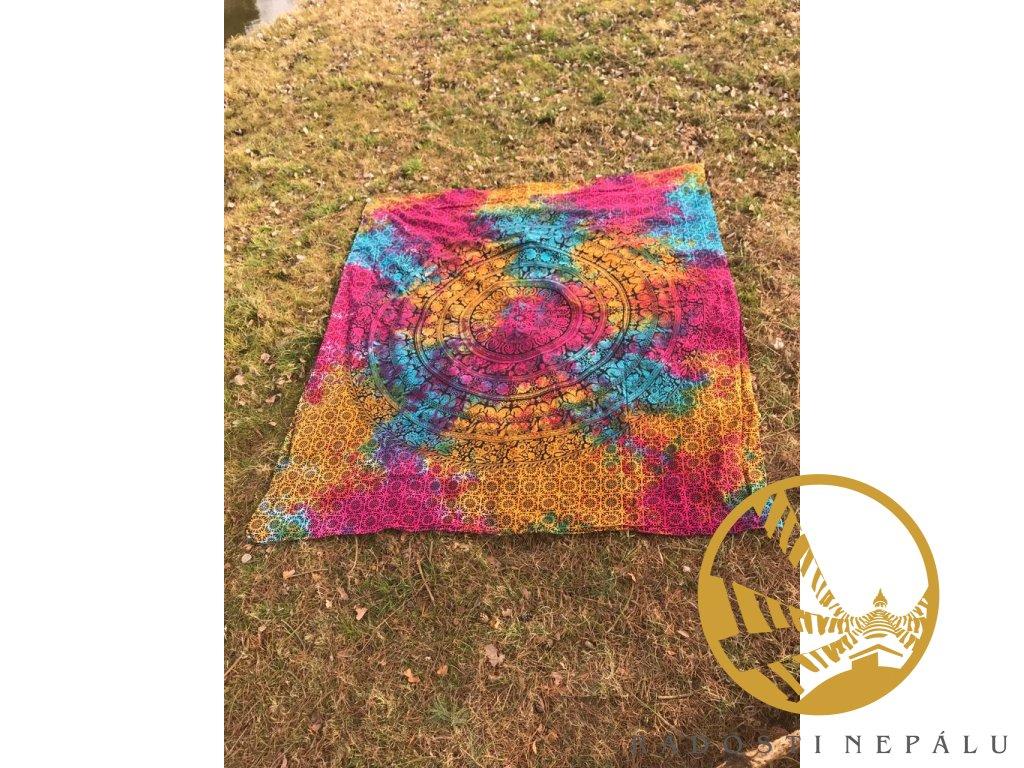 Přehoz velký batika OM
