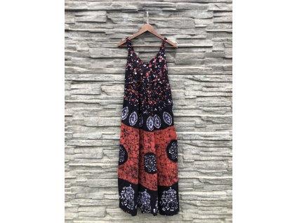 saty dlouhe batika zelenkave