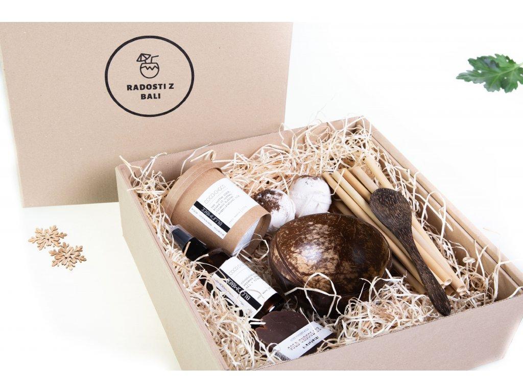 Dárkový balíček pro milovníky kokosu XXL
