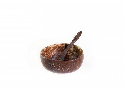 Kokosová miska malá + lžička