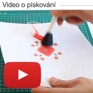 Video ukázka Pískování barevným pískem