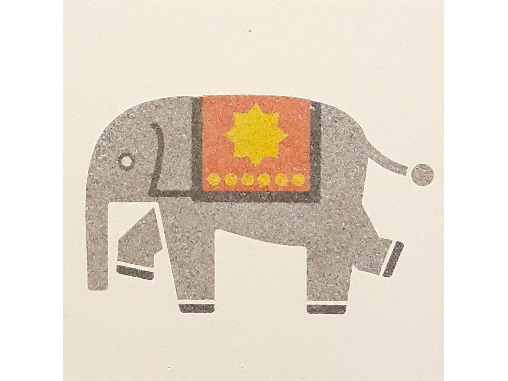 501 1 sablona na piskovani slon