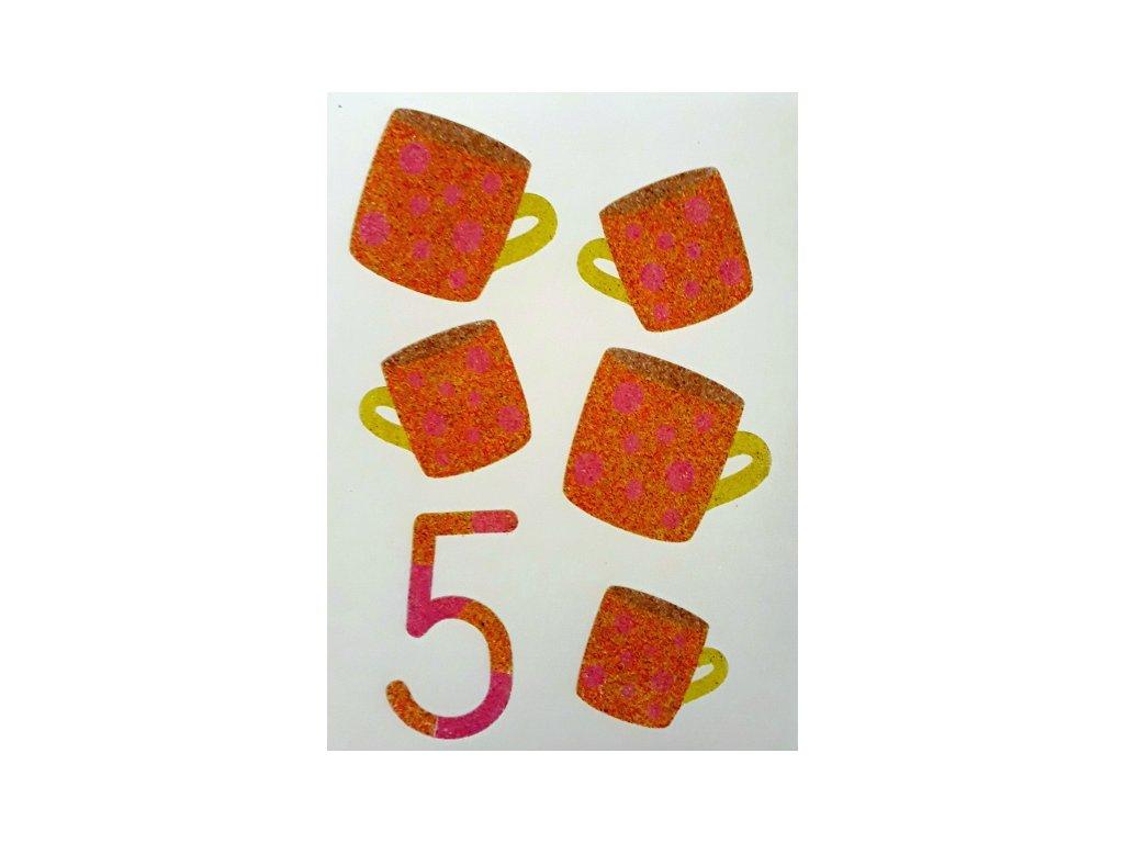Šablona na pískování číslo 5 - A6