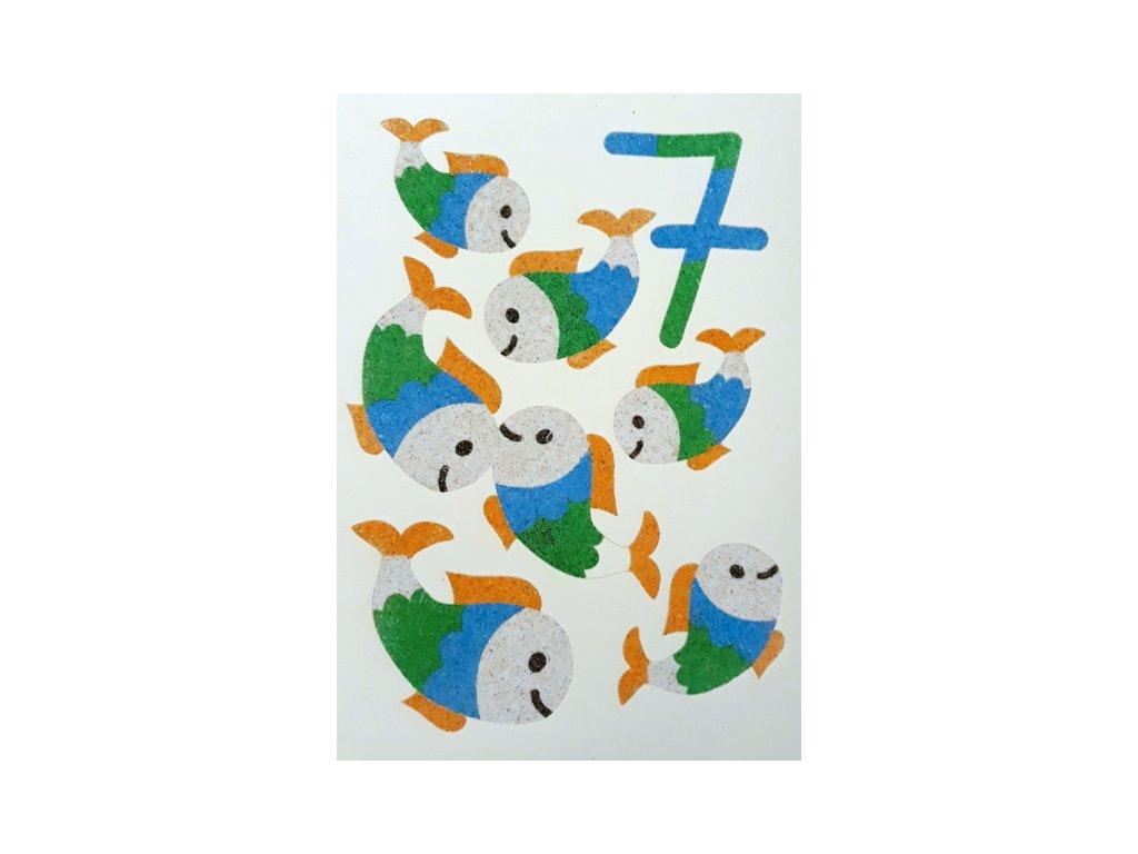Šablona na pískování číslo 7 - A6