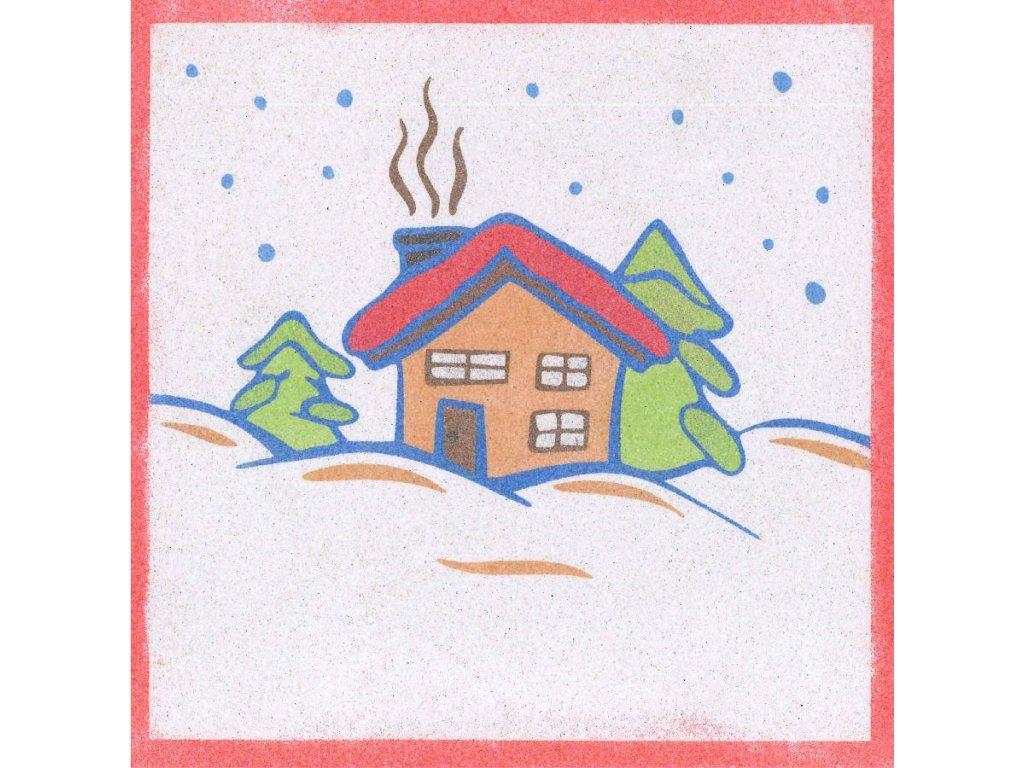 sablona-na-piskovani-zimni-dům-radost-v-pisku