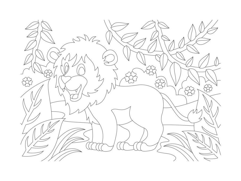 lev v dzungli