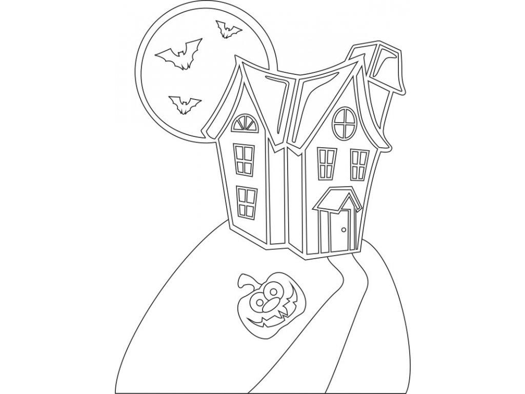 sablona-na-piskovani-halloween-dům-radost-v-pisku