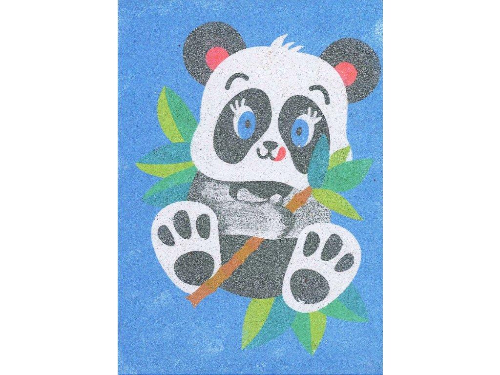 sablona-na-piskovani-panda-radost-v-pisku