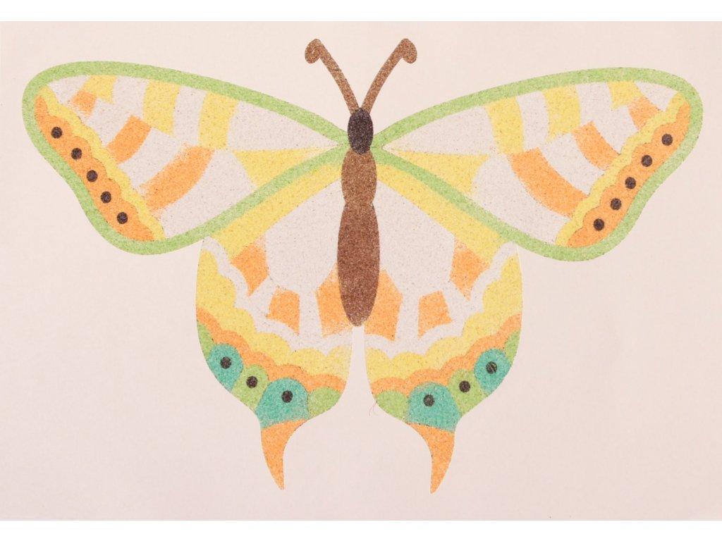 Šablona na pískování motýlek