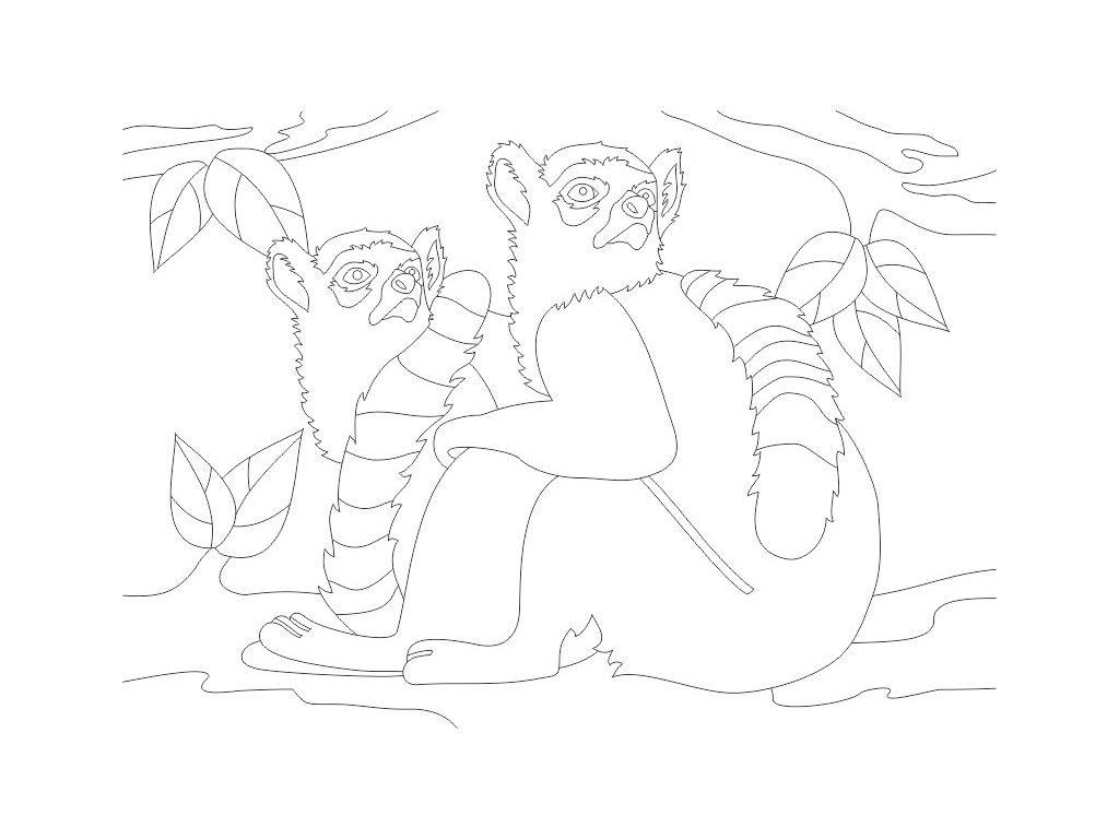 sablona-na-piskovani-lemur-radost-v-pisku