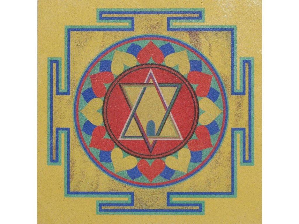 Šablona na pískování mandala 35 - tripu sundar