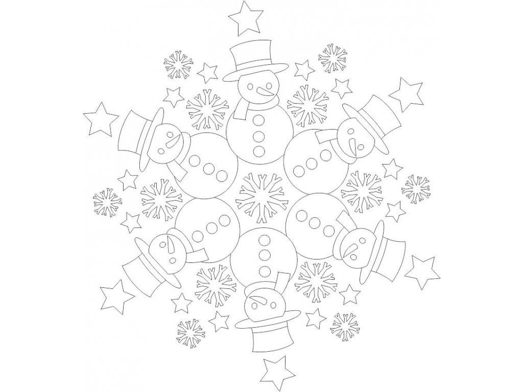 mandala snehulaci