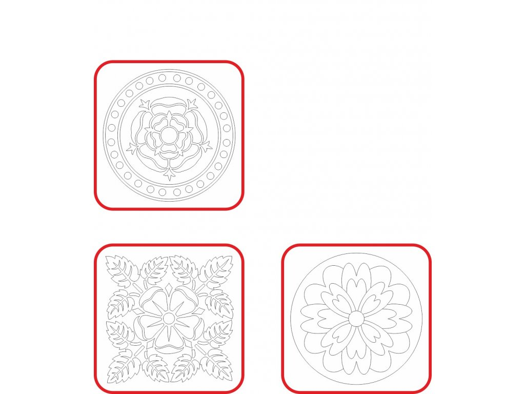 male mandaly zakladni 16x16