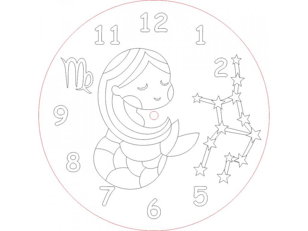 hodiny panna