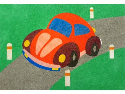 Šablona na pískování auto (Varianta A2 (420 x 594 mm))