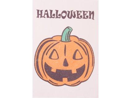 Šablona na pískování dýně halloween (Varianta A5 (148 x 210 mm))