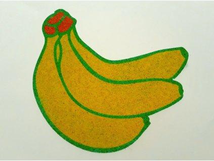 Šablona na pískování banán
