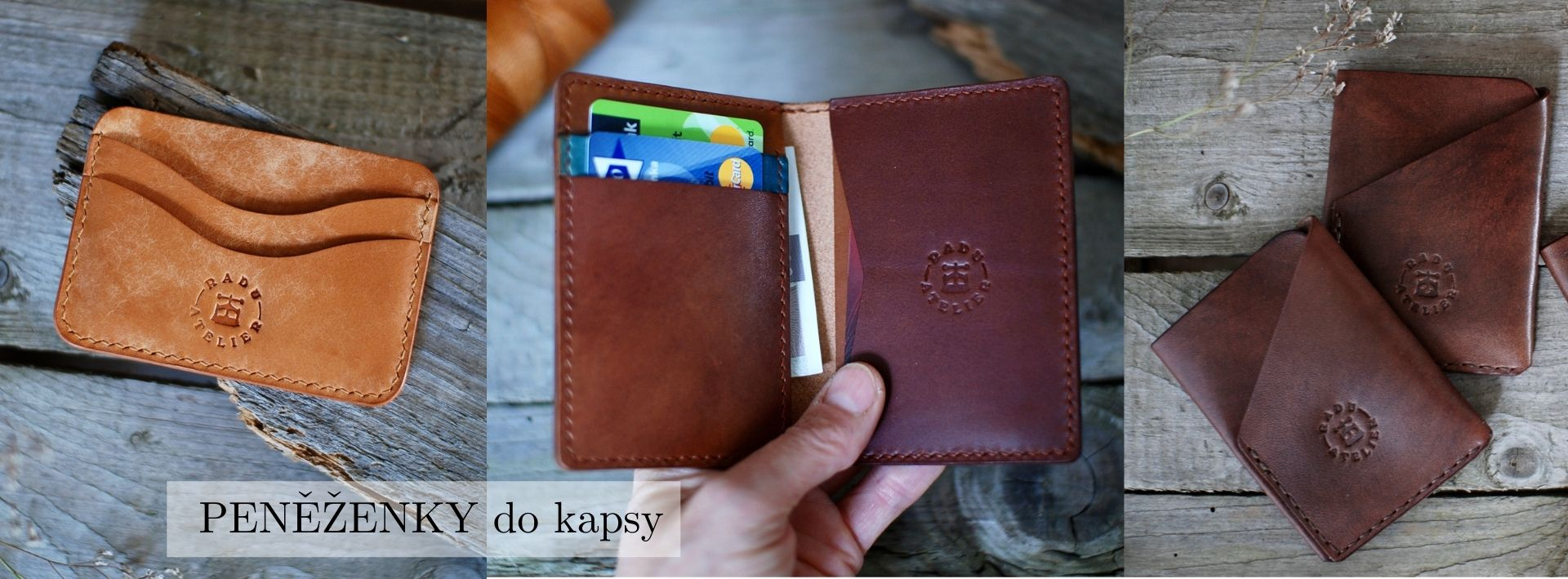 Kožené peněženky