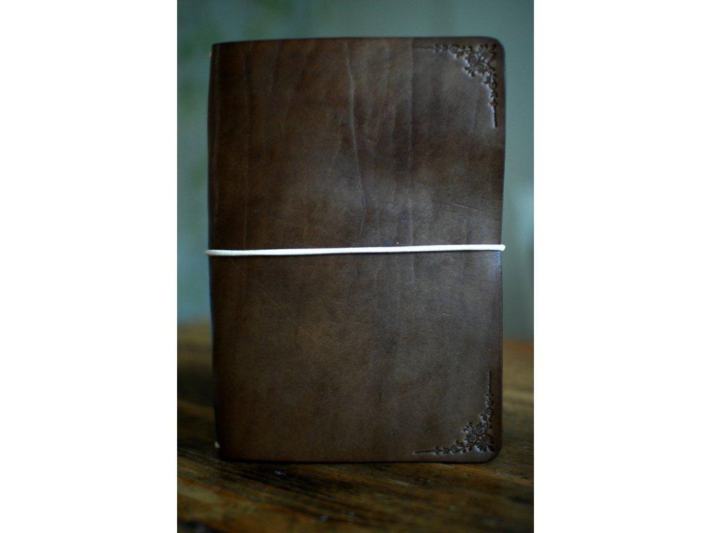 Kožený zápisník Mistr A5