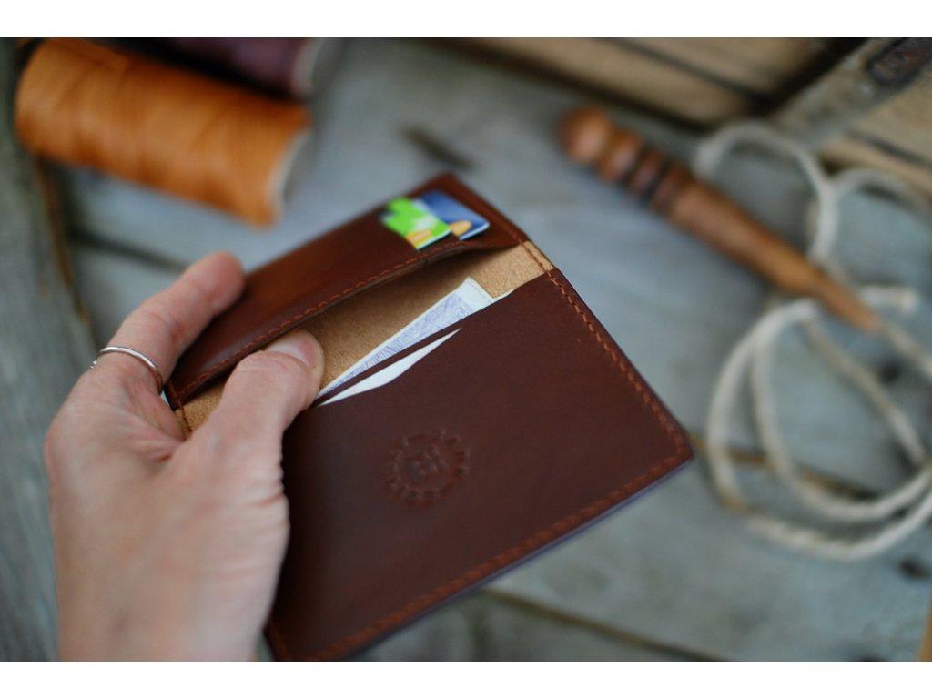 Peněženka Minimalist - kaštan