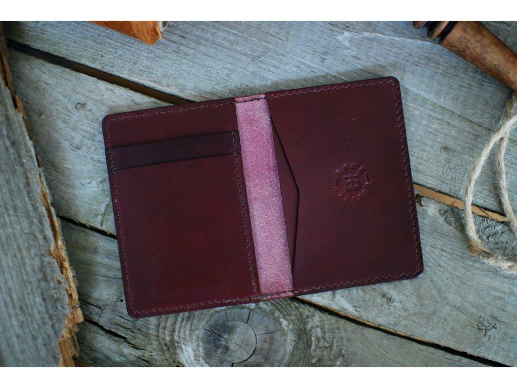 Peněženka Minimalist - vínová