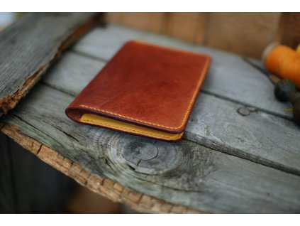 Cestovní peněženka - borovice/žlutá