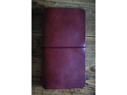 Kožený zápisník Midori - borovice