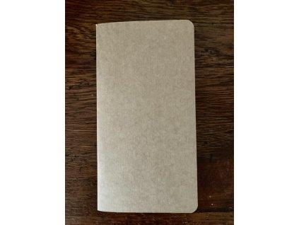 Náhradní bloček papíru - úzký/ Midori