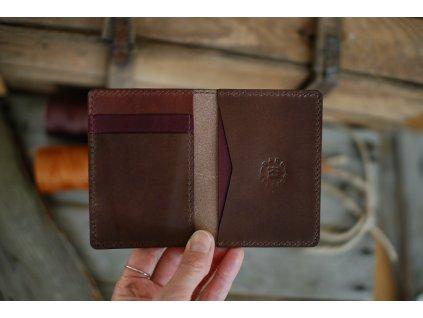 Peněženka Minimalist - hnědý mix
