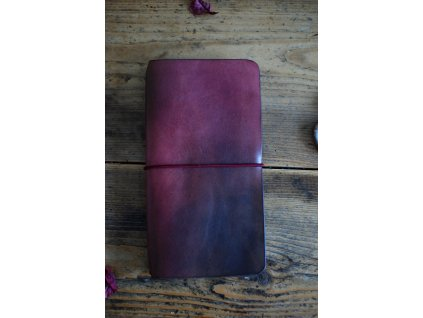 Kožený zápisník Romantique