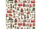 Látky kolekce London Christmas srpen 2021