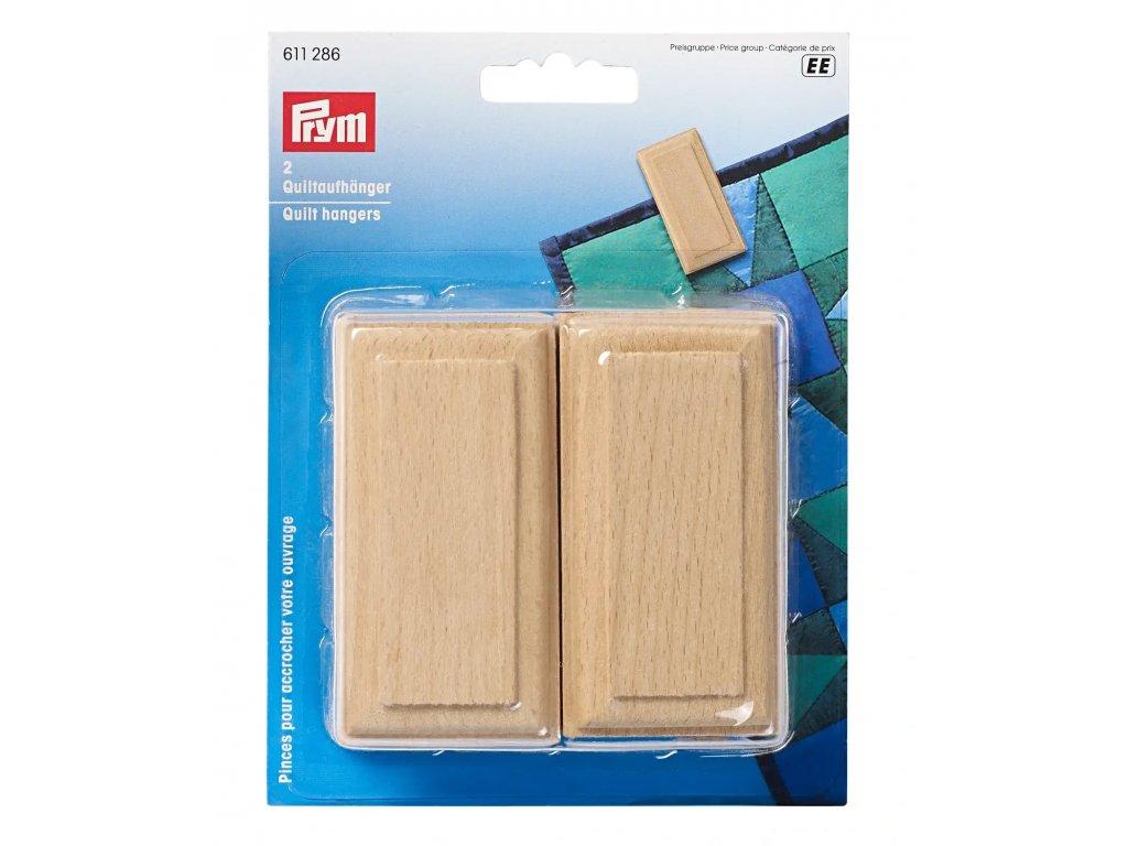 Dřevěný závěs pro quilt Prym 611286