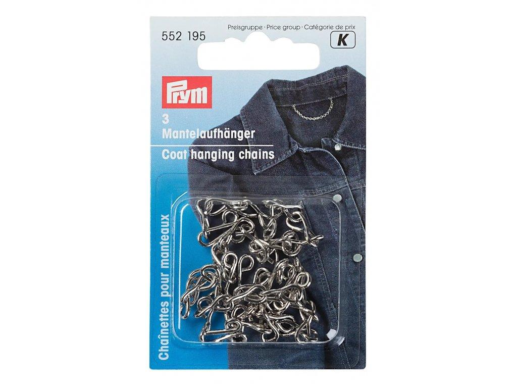Kabátové poutko stříbrné 552195