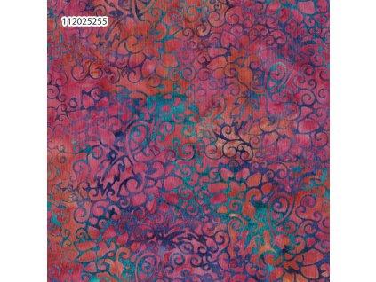 Látka batika v metráži 6/1024
