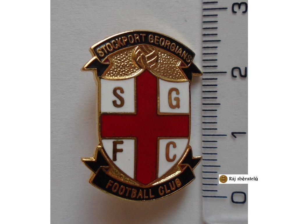 ODZNAK STOCKPORT GEORGIANS FC