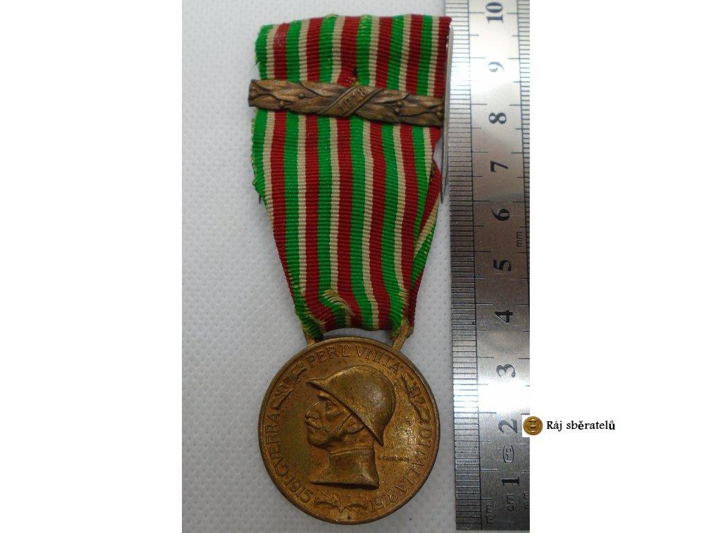 PAMĚTNÍ MEDAILE ITÁLIE 1915-1918