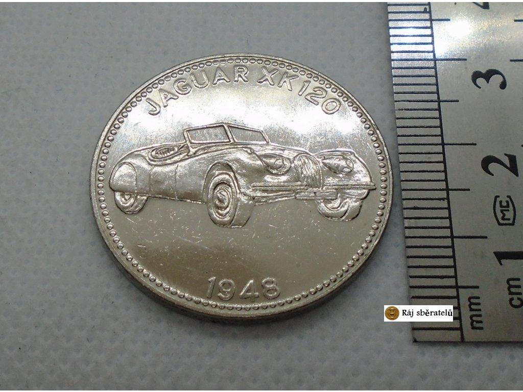 ŽETON JAGUAR XK 120 1948