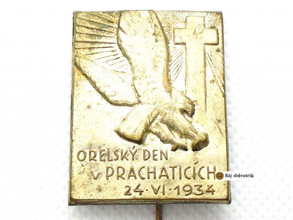 ORELSKÝ DEN V PRACHATICÍCH 1934