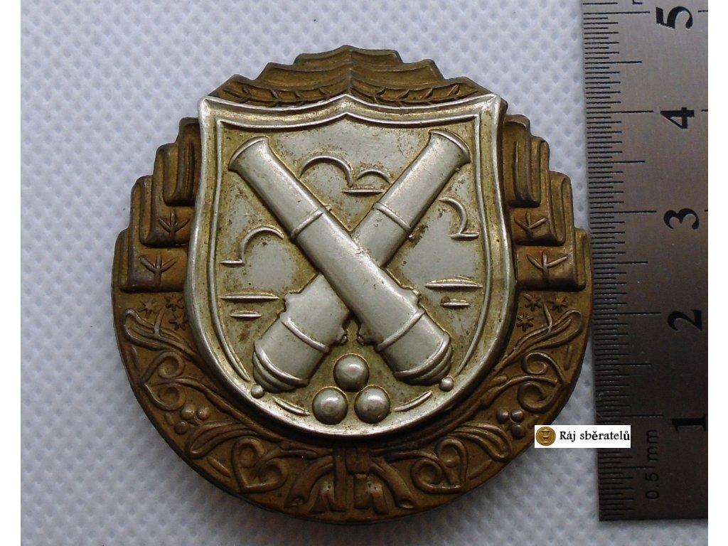 ODZNAK PRO MIŘIČE A DĚLOVODY, 1929 - 1948, II. TŘÍDA, PLECH MOŘENÝ A STŘÍBŘENÝ + MINI III. TŘÍDA