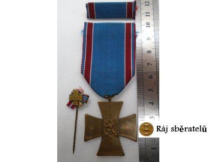 MEDAILE ČSR DOBROVOLCE 1918 - 1919 - KOMPLET