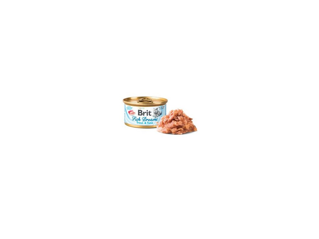 Brit Cat konzerva Brit Fish Dreams Trout & Tuna 80g