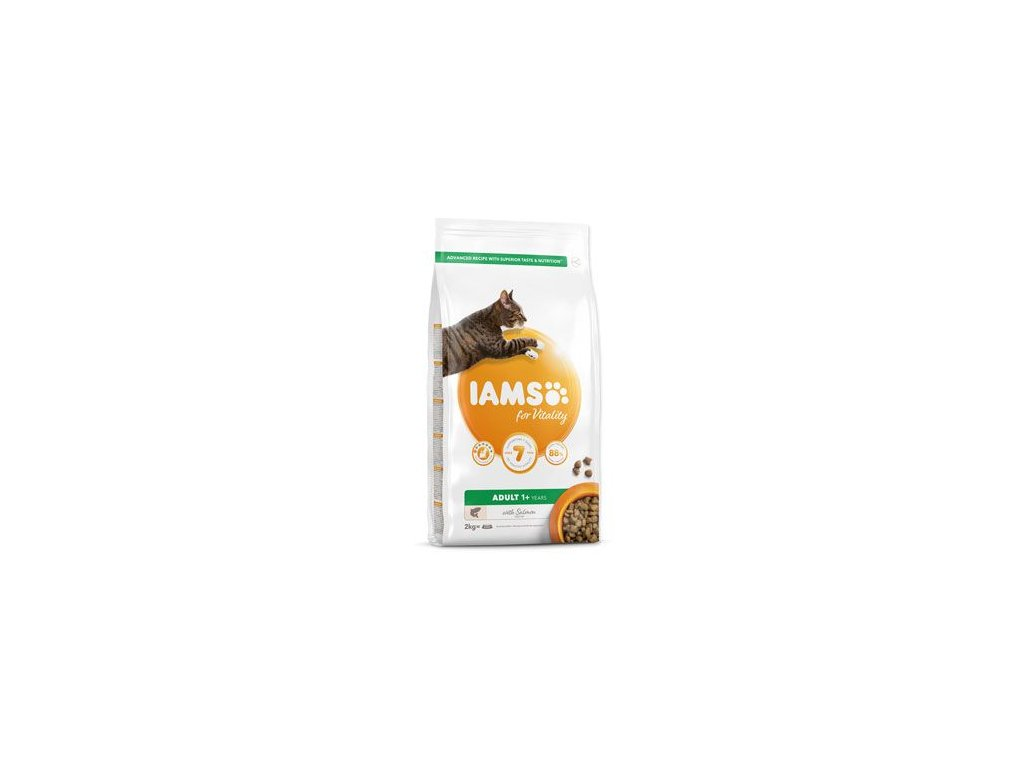 Iams Cat Adult Salmon 2kg