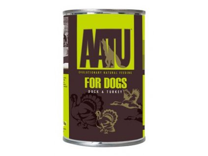 AATU Dog Duck n Turkey konzerva 400g