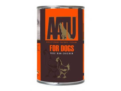 AATU Dog Chicken konzerva 400g