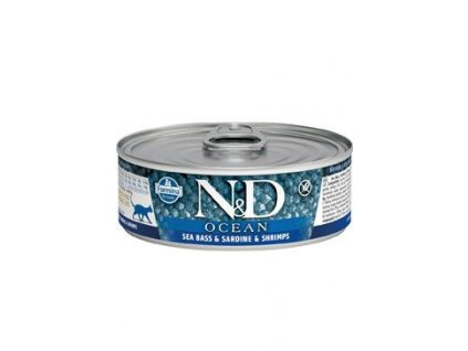N&D CAT OCEAN Adult Tuna & Sardine & Shrimps 80g