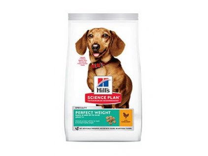Hill's Canine Dry SP Perf.Weight Adult Small Chicken