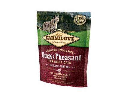 Carnilove Cat Duck & Pheasant Adult Hairball Control