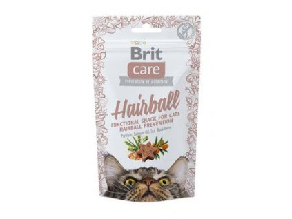 Brit Care Cat Snack Hairball 50g - AKCE