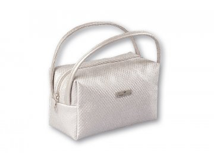 Top Choice Kozmetická taška DOTS - SILVER 97652